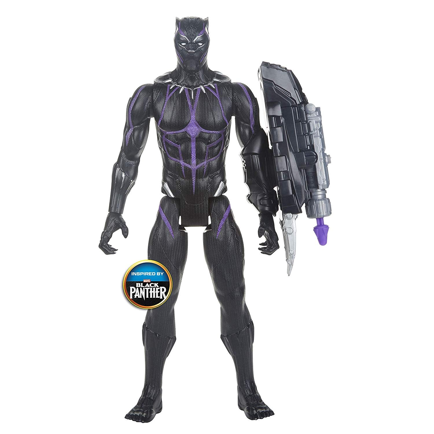 Avengers Endgame Black Panther Figure with Power FX Pack by Hasbro