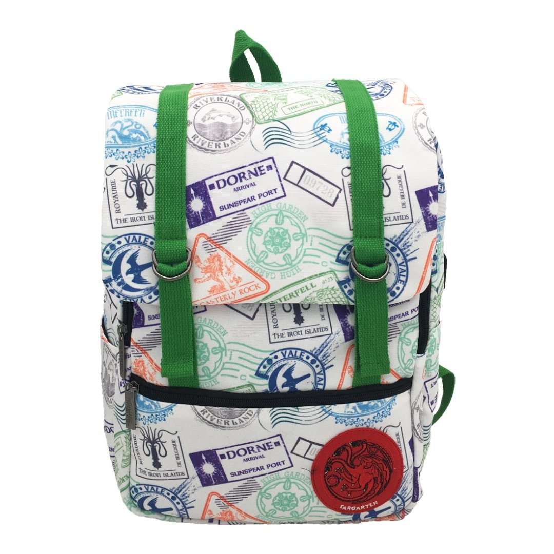 Game of Thrones Dance of the Dragons Canvas Backpack -My Baby Excels - India - www.superherotoystore.com