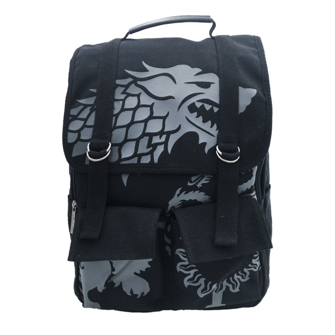 The Lonewolf Game of Thrones Canvas Backpack -My Baby Excels - India - www.superherotoystore.com