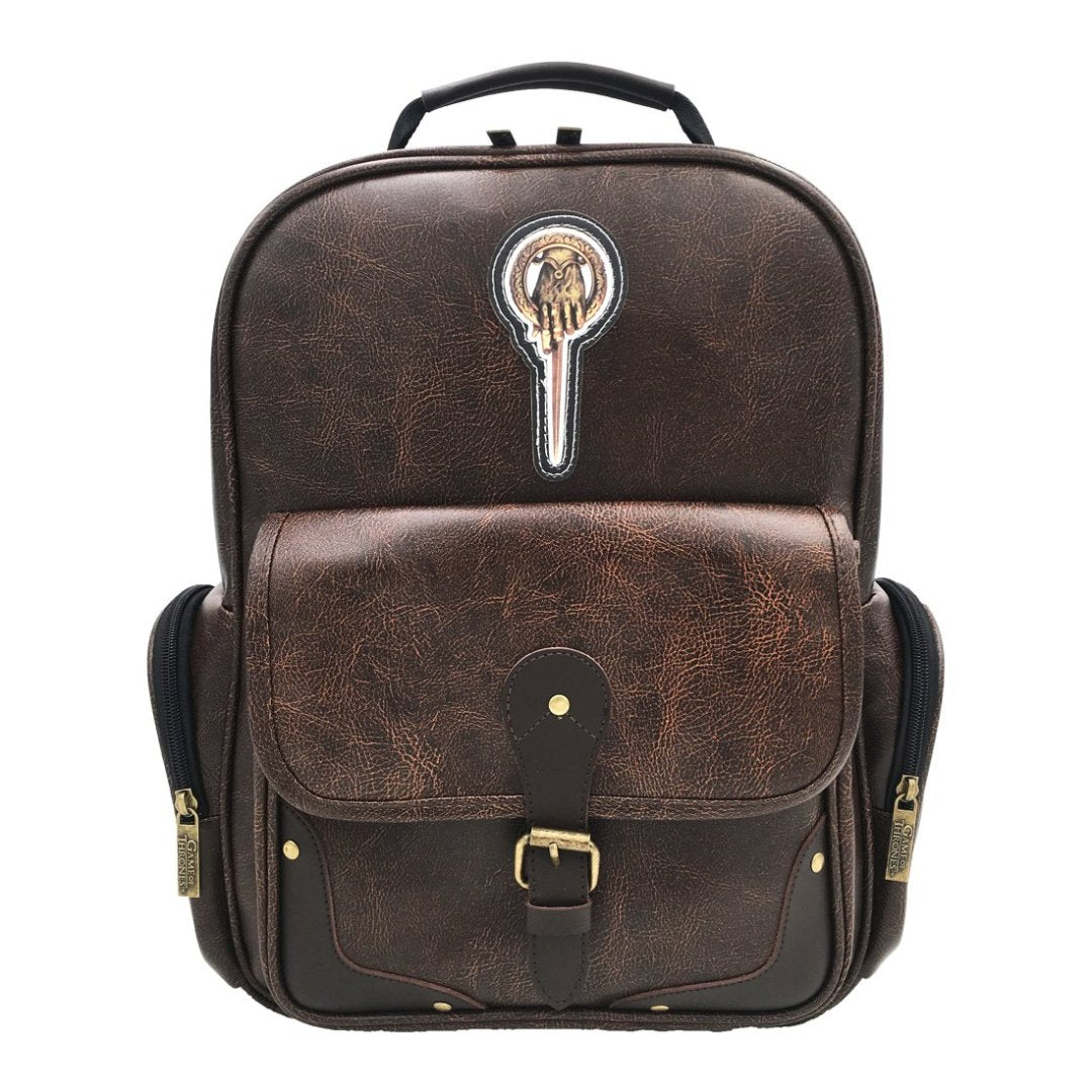 Game of Thrones Hand of the King Leather Backpack -My Baby Excels - India - www.superherotoystore.com
