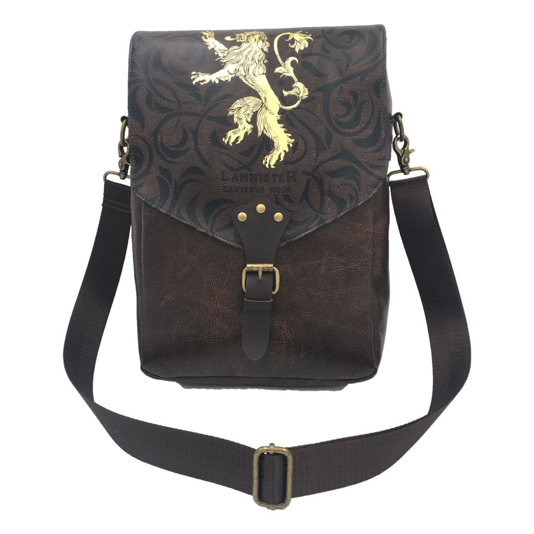 Lannister Game Of Thrones Brown PU Shoulder Bag -My Baby Excels - India - www.superherotoystore.com