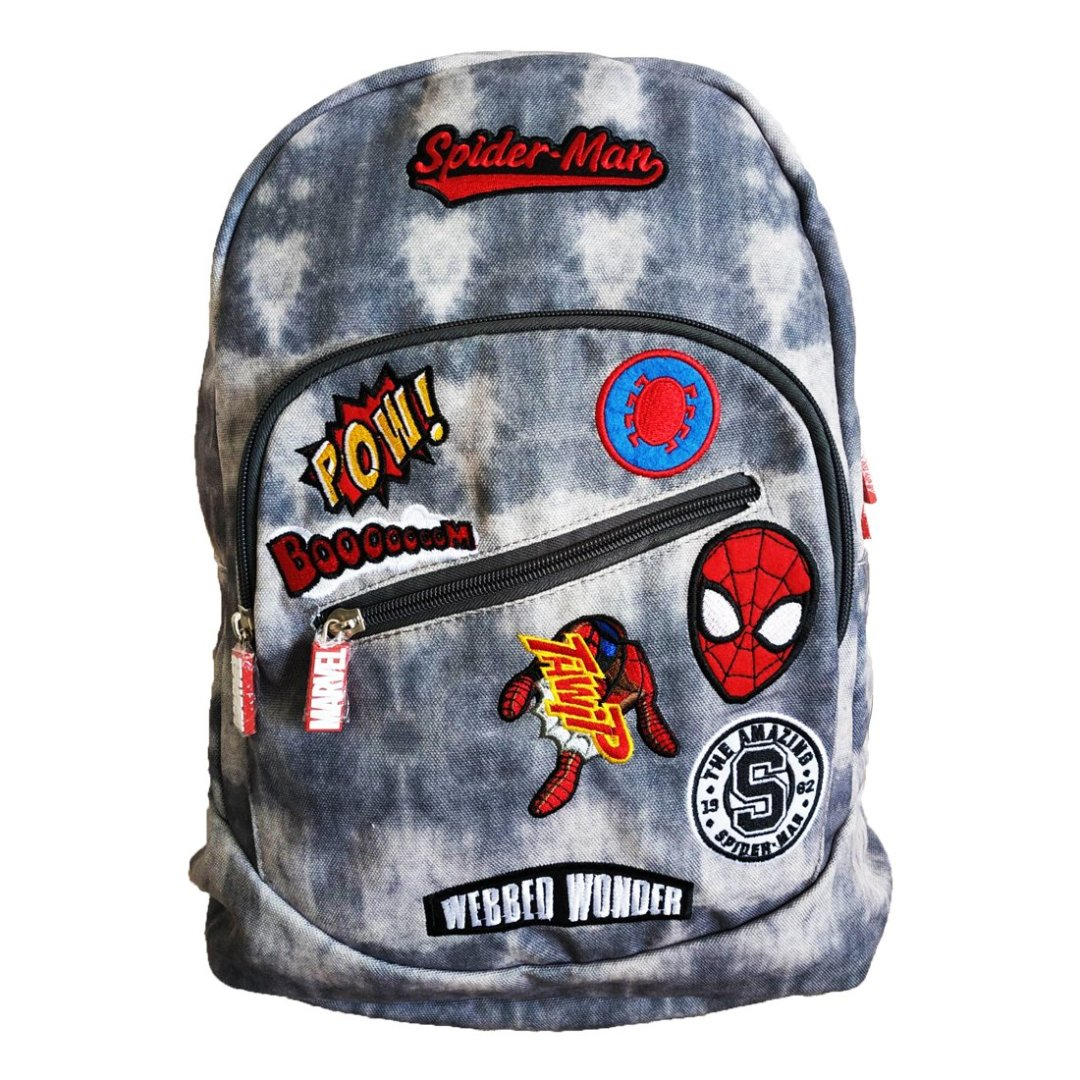 Spiderman Webbed Wonder Canvas Backpack -My Baby Excels - India - www.superherotoystore.com