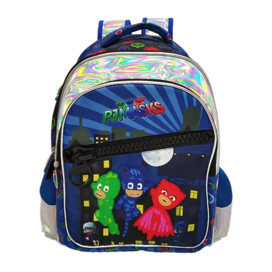 PJ Masks Big Zipper Backpack -My Baby Excels - India - www.superherotoystore.com