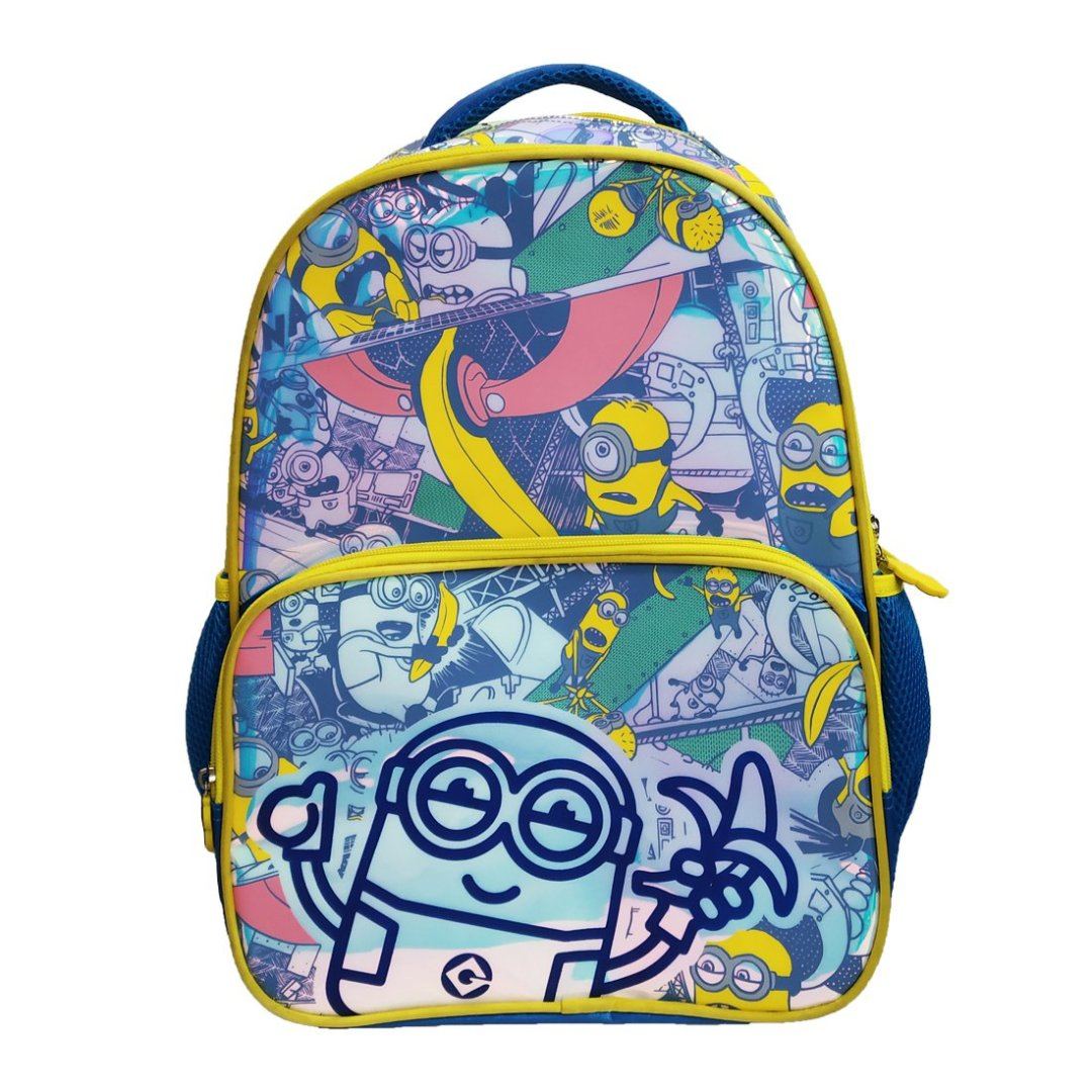 Minions Holographic Backpack -My Baby Excels - India - www.superherotoystore.com