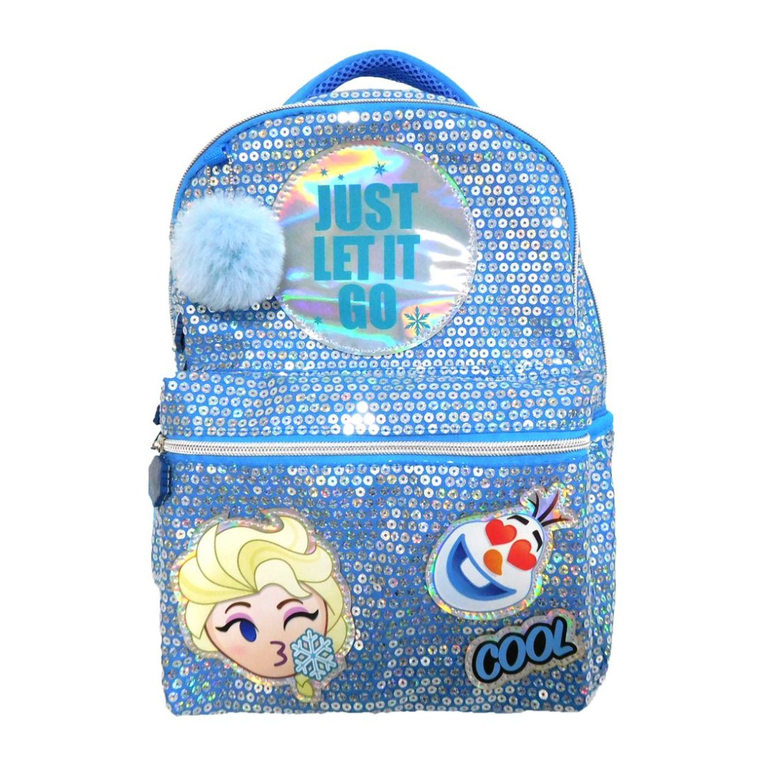 Frozen Elsa Pom-Pom Backpack -My Baby Excels - India - www.superherotoystore.com