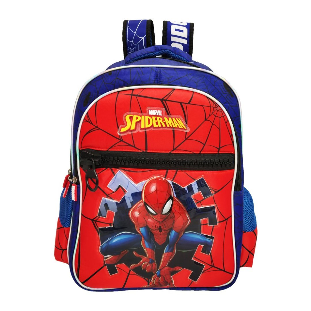 Spiderman Big Zipper Backpack