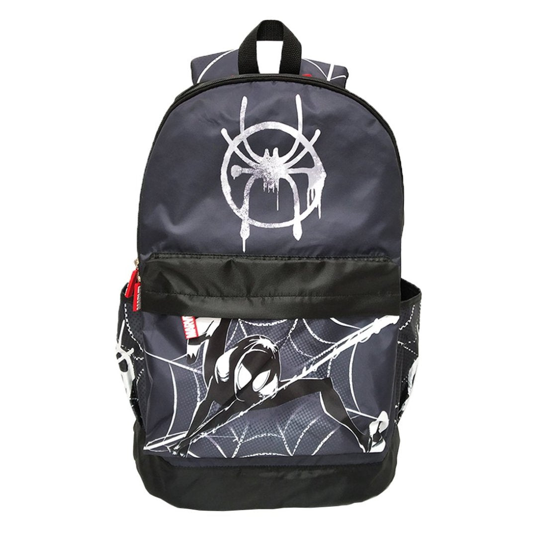 Spiderman Black Backpack -My Baby Excels - India - www.superherotoystore.com