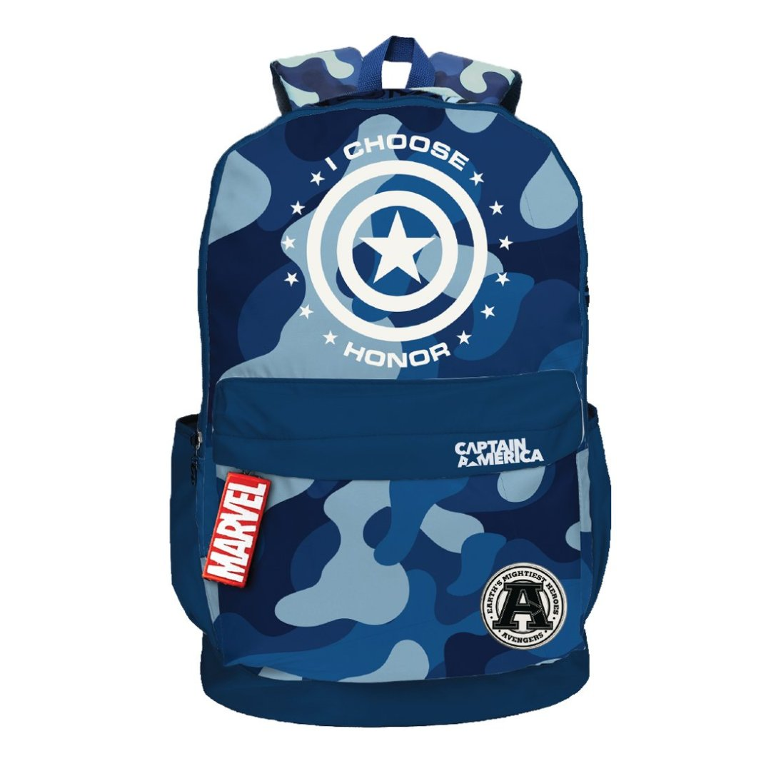 Captain America I Choose Honor Backpack -My Baby Excels - India - www.superherotoystore.com
