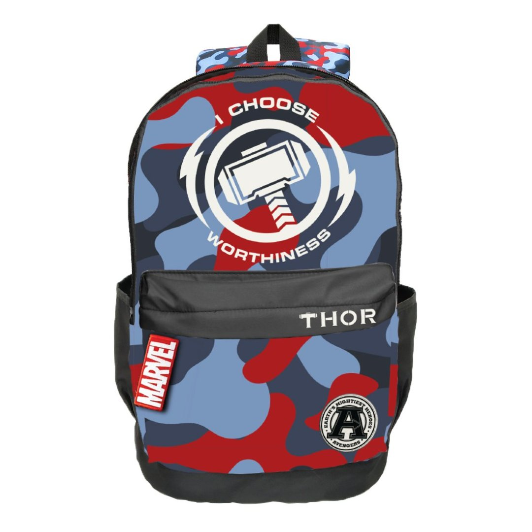 Thor I Choose Worthiness Backpack -My Baby Excels - India - www.superherotoystore.com