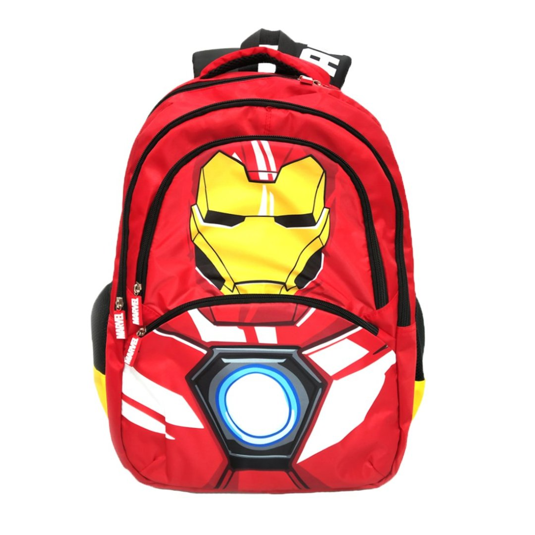 Iron Man Backpack -My Baby Excels - India - www.superherotoystore.com