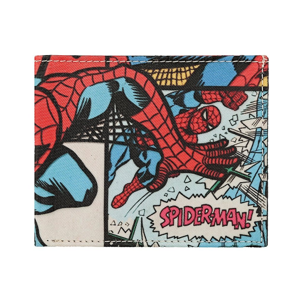 Spider-Man Bi-Fold Wallet by Bombay Merch -Bombaymerch - India - www.superherotoystore.com