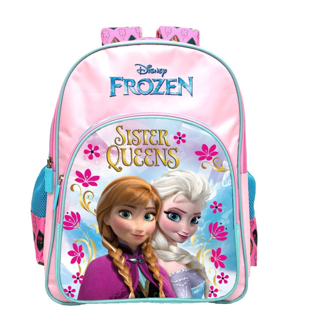 Frozen Queen Sister's Backpack -My Baby Excels - India - www.superherotoystore.com