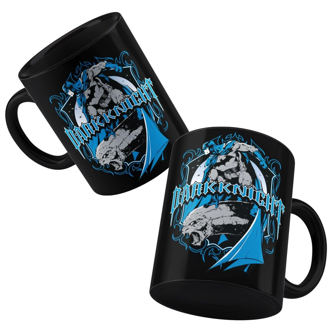 DC Comics Dark Knight Batman Blue Mug -Happy Giftmart - India - www.superherotoystore.com
