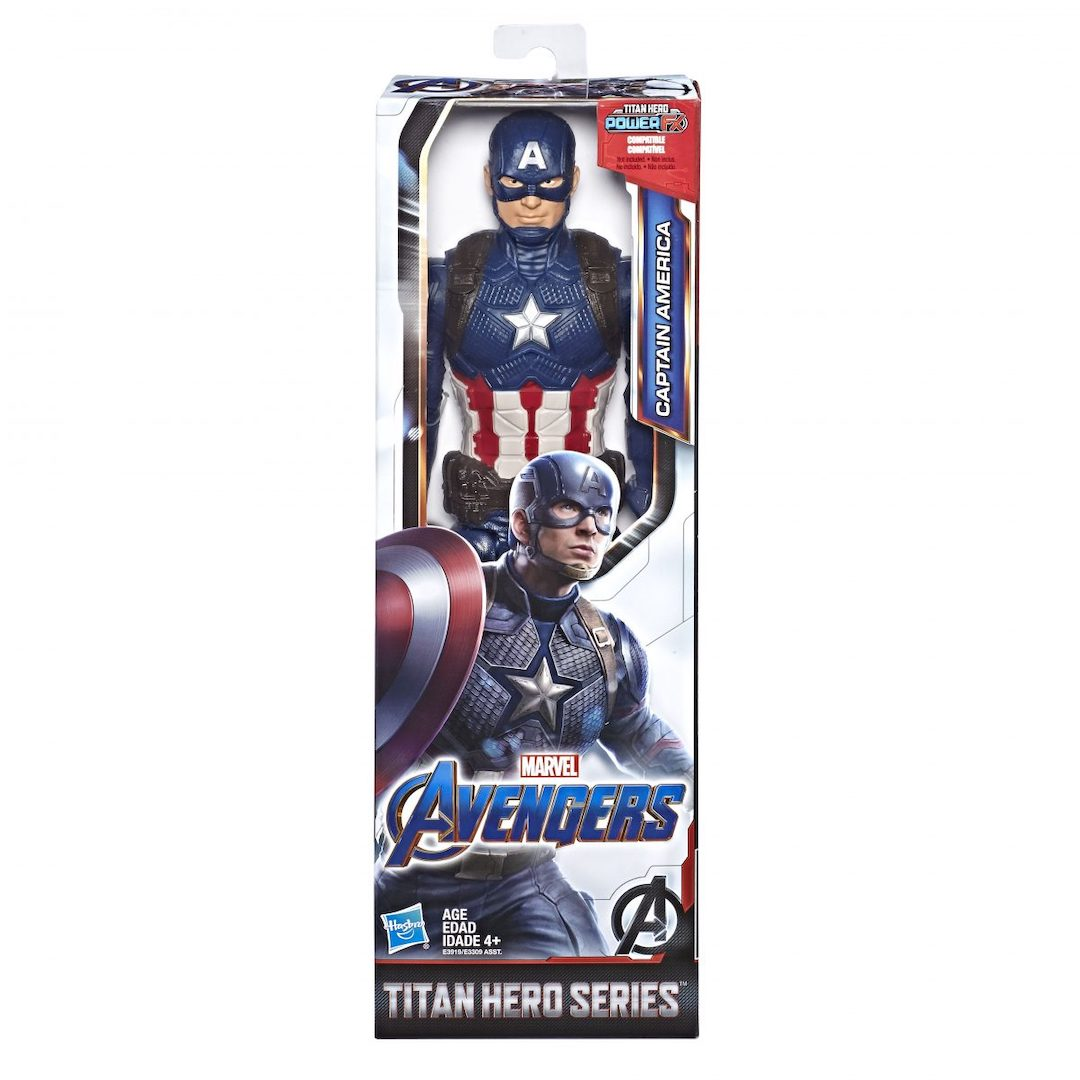 Avengers Endgame Captain America 12-Inch Figure by Hasbro -Hasbro - India - www.superherotoystore.com