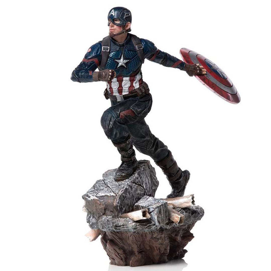 Avengers Endgame Captain America 1:10 Scale Statue by Iron Studios