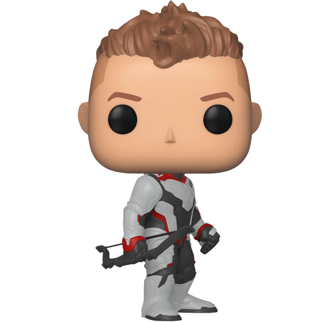 Avengers Endgame Hawkeye (Team Suit) Vinyl Bobble-Head by Funko -Funko - India - www.superherotoystore.com