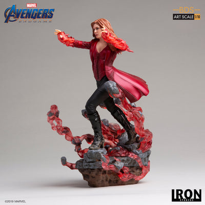 Avengers Endgame Scarlet Witch 1:10th Scale Statue by Iron Studios -Iron Studios - India - www.superherotoystore.com