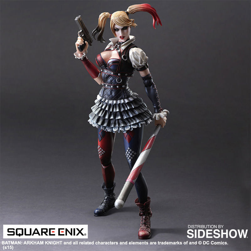 Dc Comics Arkham Knight Harley Quinn by Square Enix-Square Enix- www.superherotoystore.com-Action Figure - 4