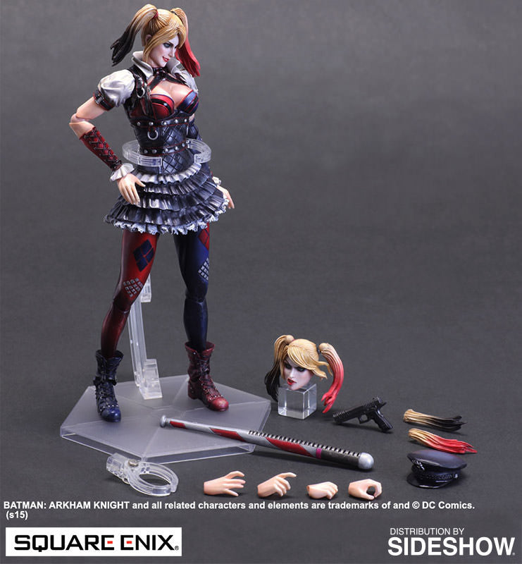 Dc Comics Arkham Knight Harley Quinn by Square Enix-Square Enix- www.superherotoystore.com-Action Figure - 5