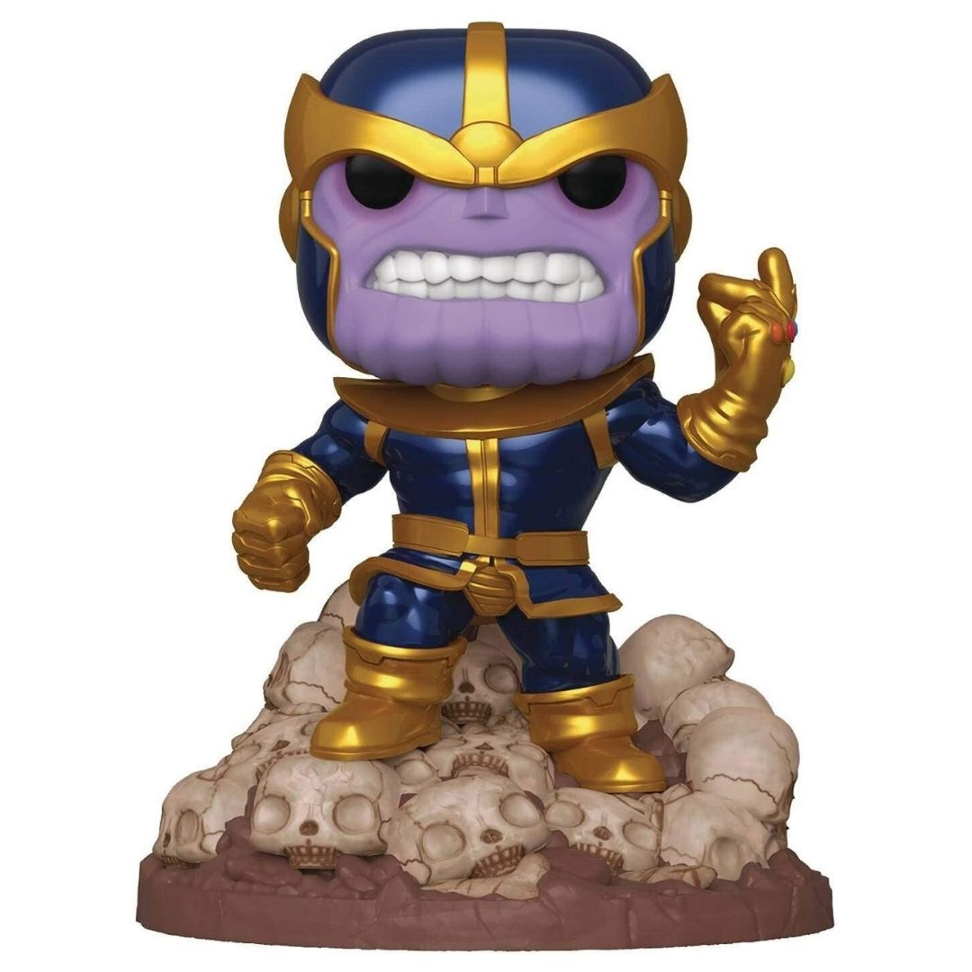 Marvel Comics Thanos Snap 6-Inch Bobble-Head by Funko -Funko - India - www.superherotoystore.com
