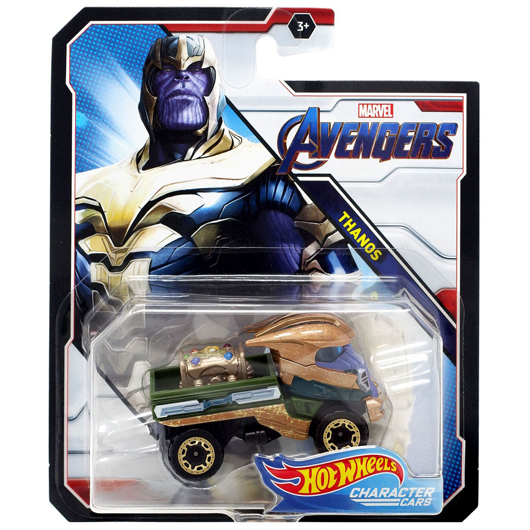 Avengers Endgame Thanos 1:64 Scae Die-Cast Car by Hot Wheels