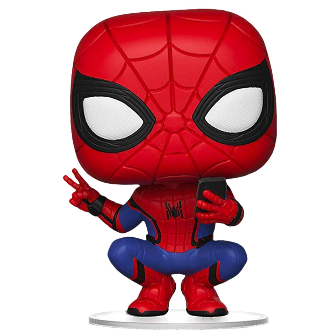 Spiderman Far From Home - Selfie Spiderman Vinyl Bobble-Head by Funko