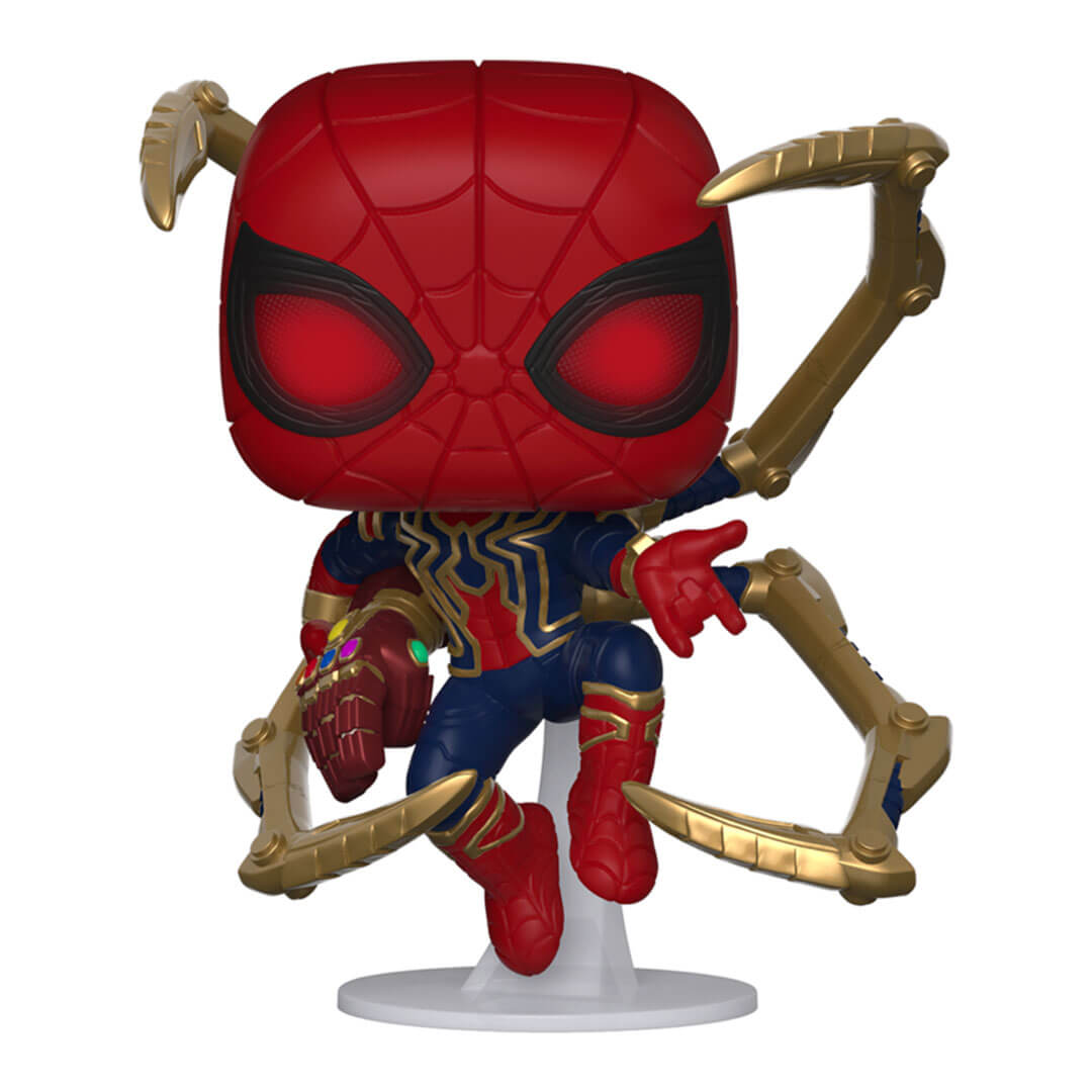Avengers: Endgame Iron Spider with Nano Gauntlet Pop! Vinyl Bobble-Head by Funko -Funko - India - www.superherotoystore.com