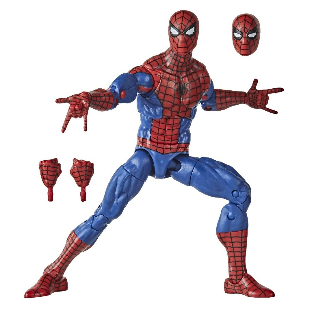 Spiderman Retro Collection Spiderman Marvel Legends Figure by Hasbro -Hasbro - India - www.superherotoystore.com