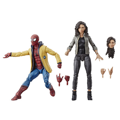 Spiderman Homecoming Spiderman & MJ 2 Pack by Hasbro -Hasbro - India - www.superherotoystore.com