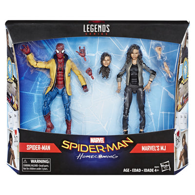 Spiderman Homecoming Spiderman & MJ 2 Pack by Hasbro