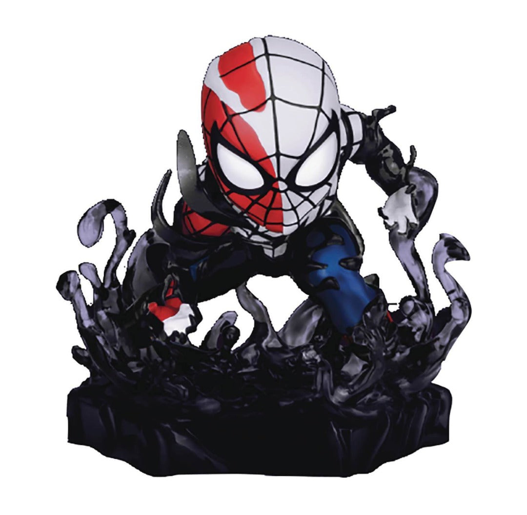 Marvel Comics Venomized Spider-Man Mini Egg Attack Figure by Beast Kingdom