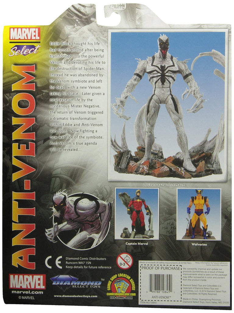 Marvel Select Anti-Venom Action Figure-Diamond Select toys- www.superherotoystore.com-Action Figure - 3