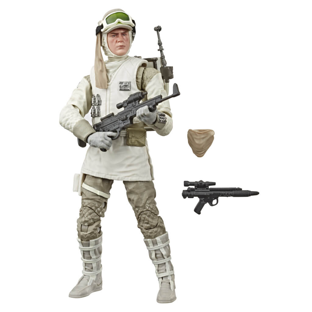Star Wars Black Series Empire Strikes Back 40th Anniversary Hoth Rebel Soldier Figure by Hasbro -Hasbro - India - www.superherotoystore.com