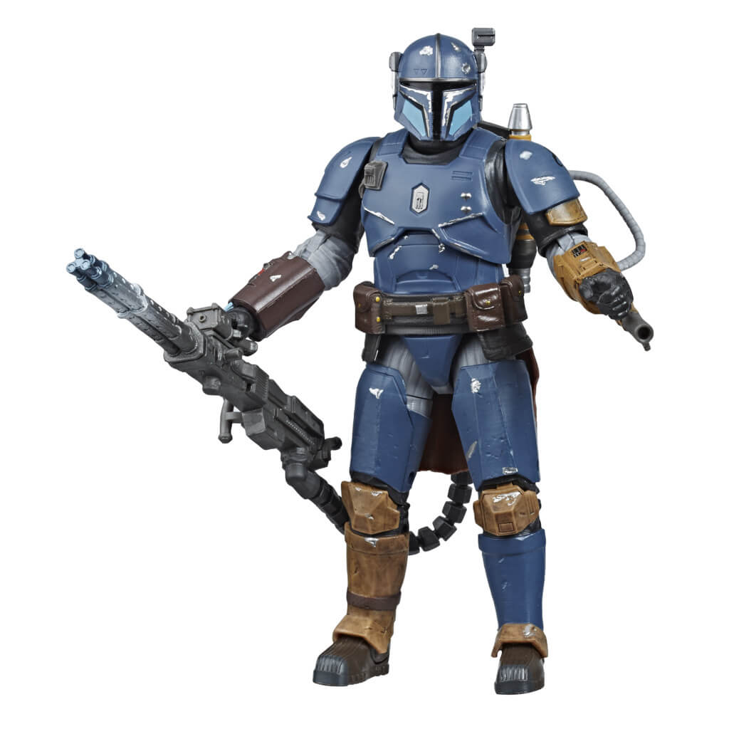 Star Wars: The Black Series Heavy Infantry Mandalorian Figure by Hasbro -Hasbro - India - www.superherotoystore.com