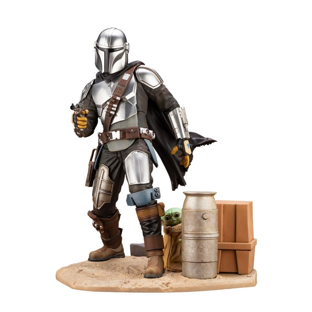 Star Wars The Mandalorian And The Child 1/7th Scale Statue by Kotobukiya -Kotobukiya - India - www.superherotoystore.com