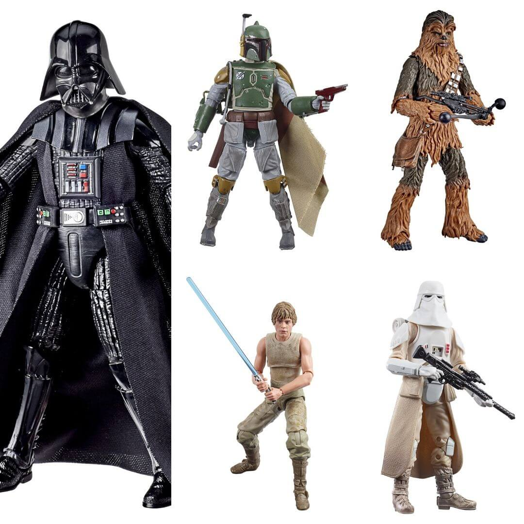 Star Wars The Empire Strikes Back 40th Anniversary Wave 3 by Hasbro -Hasbro - India - www.superherotoystore.com