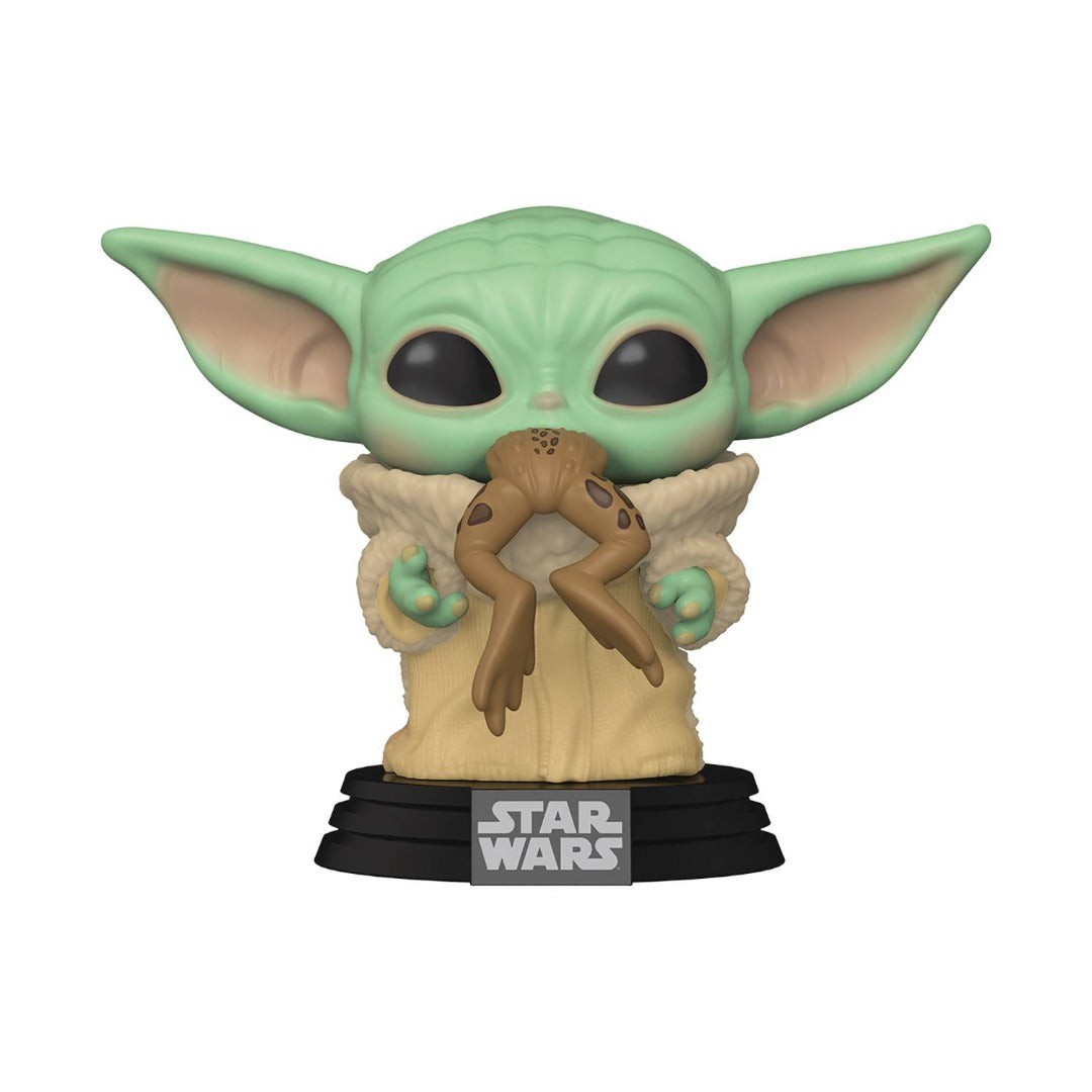 Star Wars The Mandalorian The Child With Frog Pop Vinyl Figure by Funko -Funko - India - www.superherotoystore.com