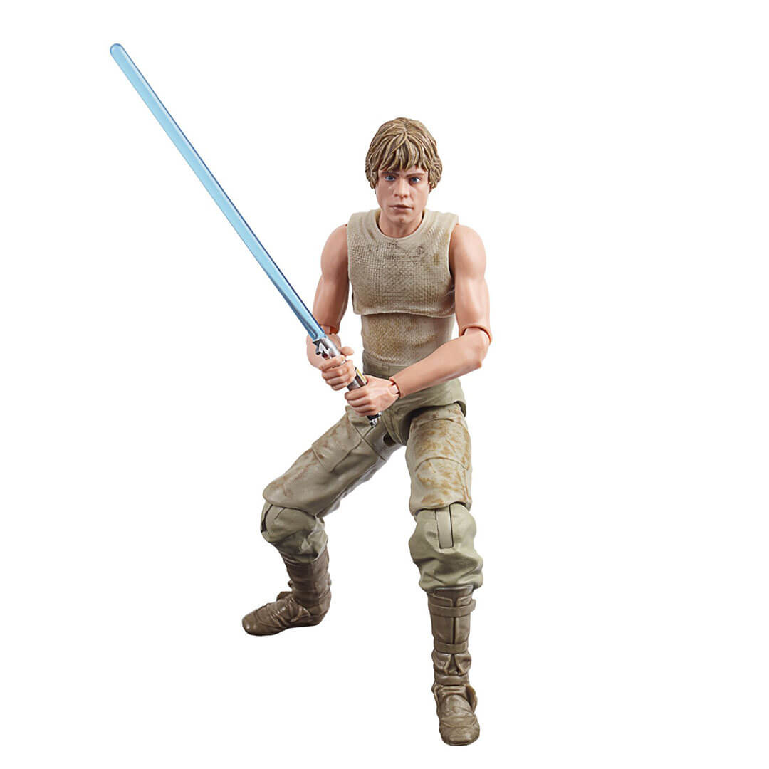 Star Wars The Empire Strikes Back 40th Anniversary Luke Skywalker (Dagobah) Figure by Hasbro -Hasbro - India - www.superherotoystore.com