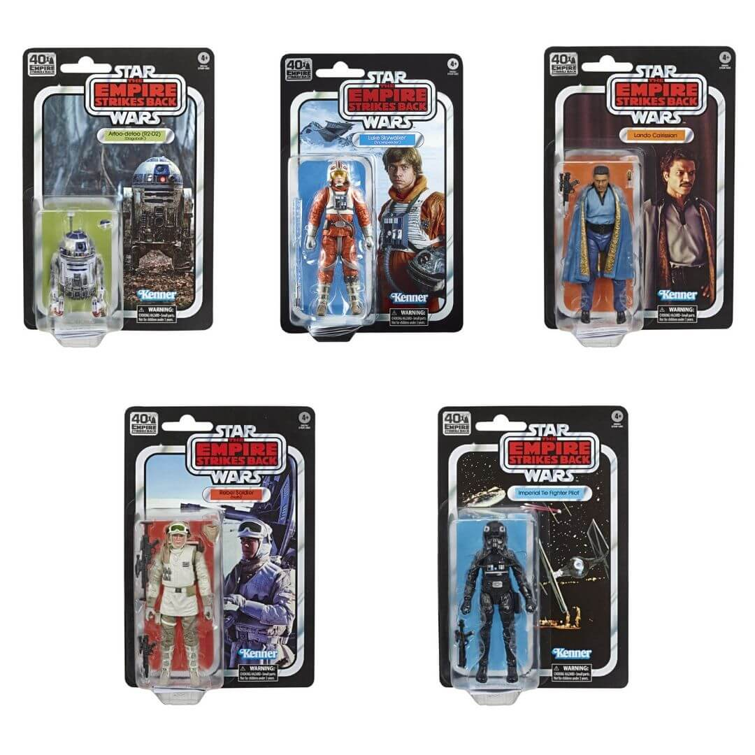 Star Wars Black Series Empire Strikes Back 40th Anniversary Wave 2 by Hasbro -Hasbro - India - www.superherotoystore.com