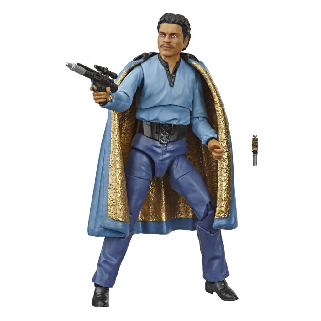 Star Wars Black Series Empire Strikes Back 40th Anniversary Lando Calrissian Figure by Hasbro -Hasbro - India - www.superherotoystore.com