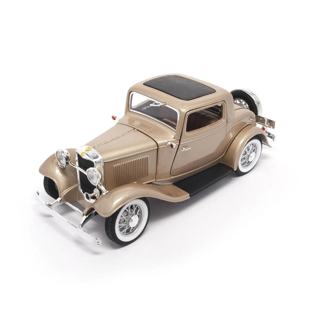 1932 Ford 3-Window Coupe 1:18 Scale Die-Cast Car by Lucky Die-Cast -LDC - India - www.superherotoystore.com