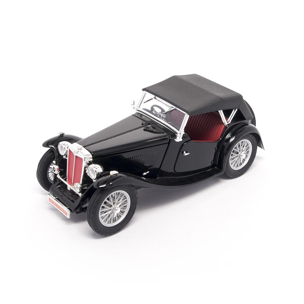 1947 MG TC Midget 1:18 Scale Die Cast Car by Lucky Die Cast -LDC - India - www.superherotoystore.com