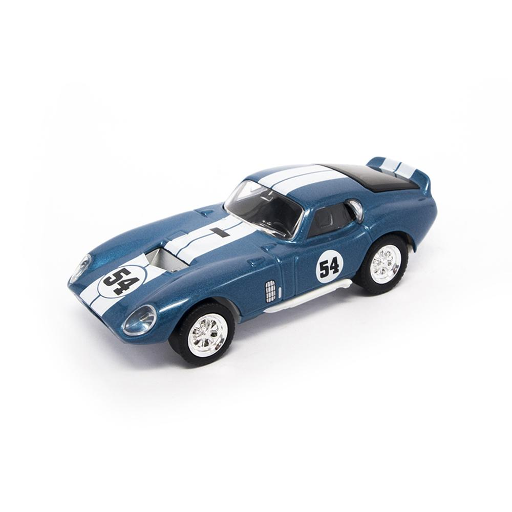 1965 Blue Shelby Cobra Daytona Coupe 1:43 Scale Die-Cast Car by Lucky Die Cast