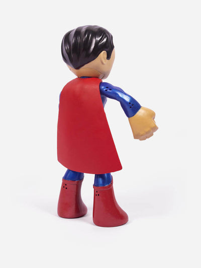Justice League 7-inch Bendable Superman Figure by Mattel -Mattel - India - www.superherotoystore.com