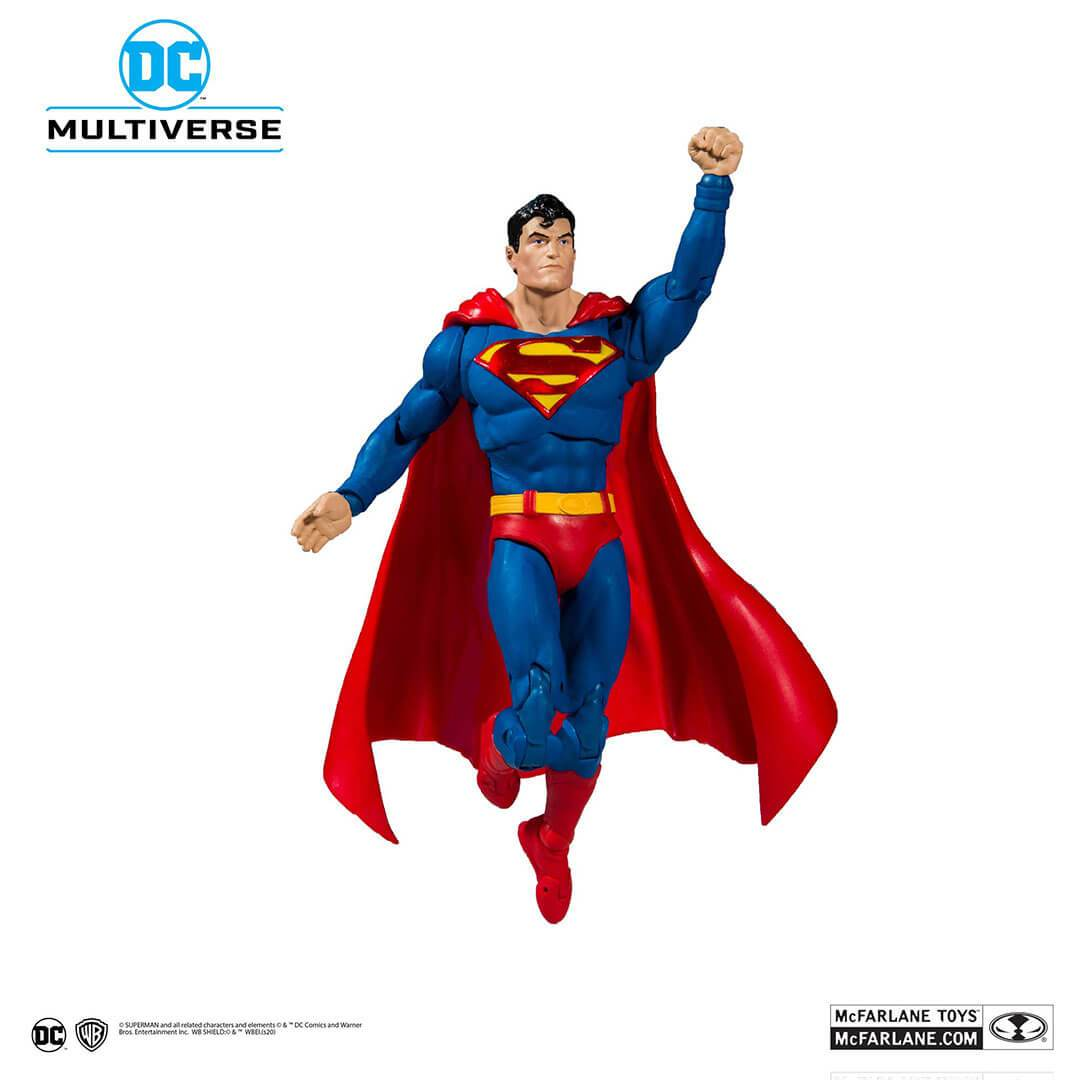 DC Batman Superman Wave 1 Modern Superman Figure by McFarlane Toys -McFarlane Toys - India - www.superherotoystore.com