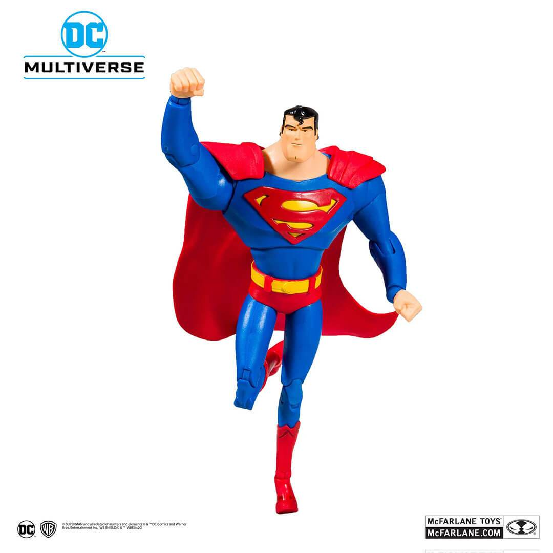 DC Animated Series Wave 1 Superman Figure by McFarlane Toys -McFarlane Toys - India - www.superherotoystore.com