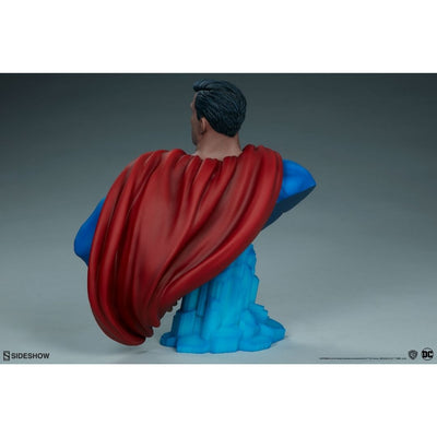 DC Comics Superman Bust by Sideshow Collectibles -Sideshow Collectibles - India - www.superherotoystore.com