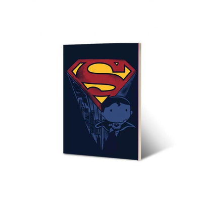 DC Superman Chibi Notebook by EFG -EFG - India - www.superherotoystore.com