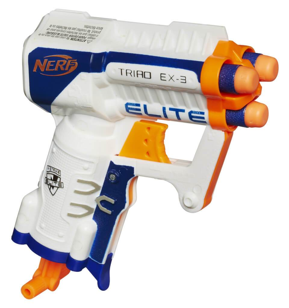 Nerf N-Strike Elite Triad EX-3 by Hasbro -Hasbro - India - www.superherotoystore.com