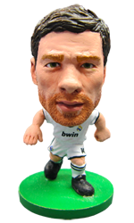 Xabi Alonso -  Real Madrid Home Kit-Soccer Starz- www.superherotoystore.com-Action Figure - 1